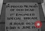 Image of anniversary of D-Day Normandy France, 1945, second 19 stock footage video 65675070993
