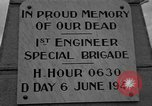 Image of anniversary of D-Day Normandy France, 1945, second 20 stock footage video 65675070993