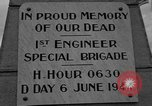 Image of anniversary of D-Day Normandy France, 1945, second 21 stock footage video 65675070993