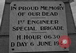 Image of anniversary of D-Day Normandy France, 1945, second 22 stock footage video 65675070993
