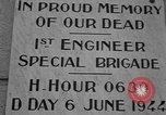 Image of anniversary of D-Day Normandy France, 1945, second 23 stock footage video 65675070993