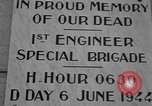Image of anniversary of D-Day Normandy France, 1945, second 25 stock footage video 65675070993