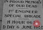 Image of anniversary of D-Day Normandy France, 1945, second 26 stock footage video 65675070993