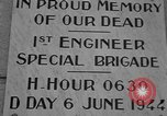 Image of anniversary of D-Day Normandy France, 1945, second 27 stock footage video 65675070993