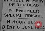 Image of anniversary of D-Day Normandy France, 1945, second 28 stock footage video 65675070993