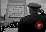 Image of anniversary of D-Day Normandy France, 1945, second 31 stock footage video 65675070994