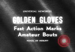 Image of Golden Gloves New York United States USA, 1965, second 4 stock footage video 65675071000