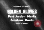 Image of Golden Gloves New York United States USA, 1965, second 5 stock footage video 65675071000