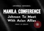 Image of Manila Conference South East Asia, 1966, second 21 stock footage video 65675071044
