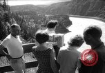 Image of hydro electric project British Columbia Canada, 1965, second 20 stock footage video 65675071049