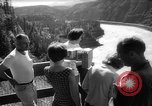 Image of hydro electric project British Columbia Canada, 1965, second 21 stock footage video 65675071049