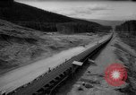 Image of hydro electric project British Columbia Canada, 1965, second 56 stock footage video 65675071049