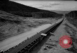 Image of hydro electric project British Columbia Canada, 1965, second 58 stock footage video 65675071049