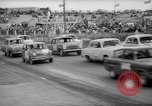 Image of jalopies crashed at demolition derby United Kingdom, 1965, second 11 stock footage video 65675071050