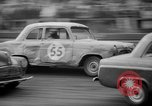 Image of jalopies crashed at demolition derby United Kingdom, 1965, second 17 stock footage video 65675071050