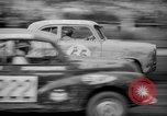 Image of jalopies crashed at demolition derby United Kingdom, 1965, second 18 stock footage video 65675071050