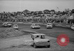 Image of jalopies crashed at demolition derby United Kingdom, 1965, second 24 stock footage video 65675071050