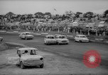 Image of jalopies crashed at demolition derby United Kingdom, 1965, second 25 stock footage video 65675071050