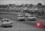 Image of jalopies crashed at demolition derby United Kingdom, 1965, second 26 stock footage video 65675071050