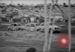 Image of jalopies crashed at demolition derby United Kingdom, 1965, second 28 stock footage video 65675071050