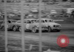 Image of jalopies crashed at demolition derby United Kingdom, 1965, second 29 stock footage video 65675071050