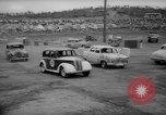 Image of jalopies crashed at demolition derby United Kingdom, 1965, second 37 stock footage video 65675071050