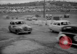 Image of jalopies crashed at demolition derby United Kingdom, 1965, second 38 stock footage video 65675071050