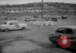 Image of jalopies crashed at demolition derby United Kingdom, 1965, second 39 stock footage video 65675071050