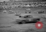 Image of jalopies crashed at demolition derby United Kingdom, 1965, second 41 stock footage video 65675071050