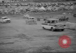 Image of jalopies crashed at demolition derby United Kingdom, 1965, second 42 stock footage video 65675071050
