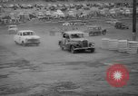 Image of jalopies crashed at demolition derby United Kingdom, 1965, second 43 stock footage video 65675071050