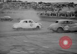 Image of jalopies crashed at demolition derby United Kingdom, 1965, second 46 stock footage video 65675071050