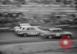 Image of jalopies crashed at demolition derby United Kingdom, 1965, second 48 stock footage video 65675071050