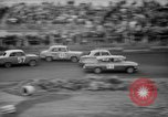 Image of jalopies crashed at demolition derby United Kingdom, 1965, second 50 stock footage video 65675071050