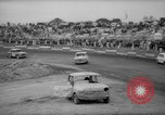 Image of jalopies crashed at demolition derby United Kingdom, 1965, second 61 stock footage video 65675071050