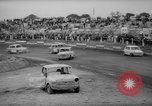 Image of jalopies crashed at demolition derby United Kingdom, 1965, second 62 stock footage video 65675071050