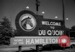 Image of harness racing Du Quoin Illinois USA, 1965, second 6 stock footage video 65675071051