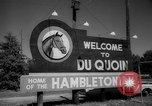Image of harness racing Du Quoin Illinois USA, 1965, second 8 stock footage video 65675071051
