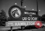 Image of harness racing Du Quoin Illinois USA, 1965, second 9 stock footage video 65675071051
