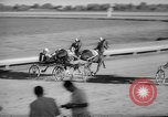 Image of harness racing Du Quoin Illinois USA, 1965, second 24 stock footage video 65675071051