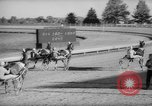 Image of harness racing Du Quoin Illinois USA, 1965, second 25 stock footage video 65675071051