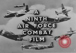 Image of 9th Army Air Force European Theater, 1944, second 9 stock footage video 65675071074