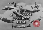 Image of 9th Army Air Force European Theater, 1944, second 11 stock footage video 65675071074
