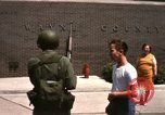 Image of United States soldiers on Guard duty in City Detroit Michigan USA, 1967, second 47 stock footage video 65675071096
