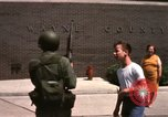 Image of United States soldiers on Guard duty in City Detroit Michigan USA, 1967, second 48 stock footage video 65675071096