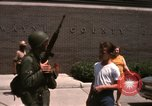 Image of United States soldiers on Guard duty in City Detroit Michigan USA, 1967, second 53 stock footage video 65675071096