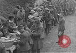 Image of US Army chow line World War I France, 1917, second 30 stock footage video 65675071103