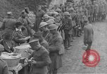 Image of US Army chow line World War I France, 1917, second 31 stock footage video 65675071103