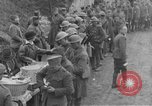 Image of US Army chow line World War I France, 1917, second 32 stock footage video 65675071103