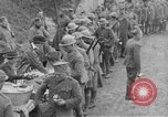 Image of US Army chow line World War I France, 1917, second 33 stock footage video 65675071103
